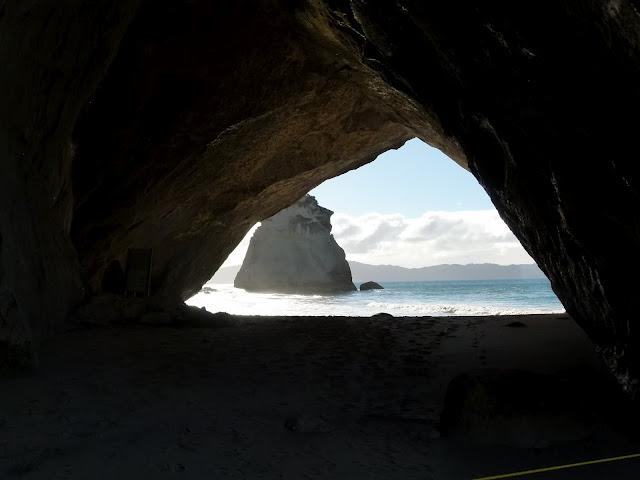 Cathedral cave, Nova Zelândia