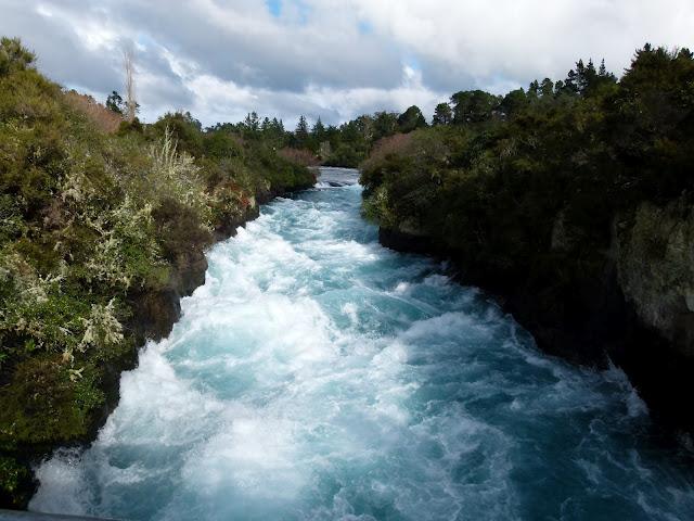 Huka Falls, Nova Zelândia