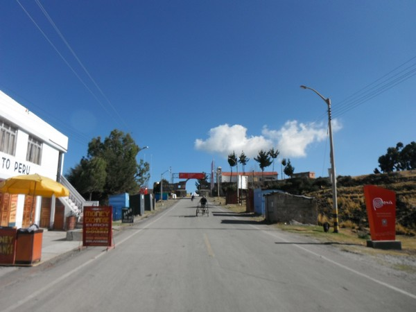 fronteira Peru - Bolívia