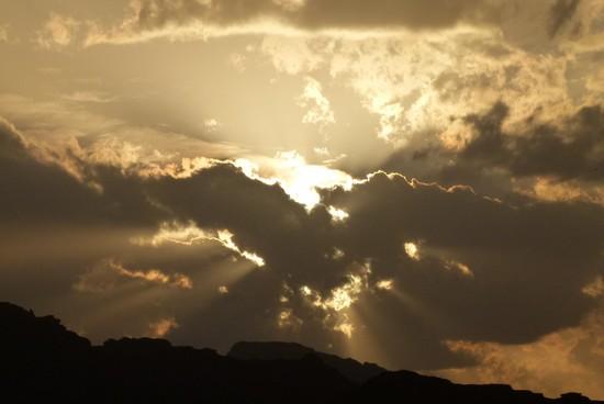 Pelo menos o pôr do sol eu consegui captar