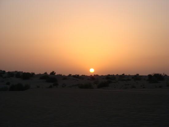 Passeio deserto de Dubai