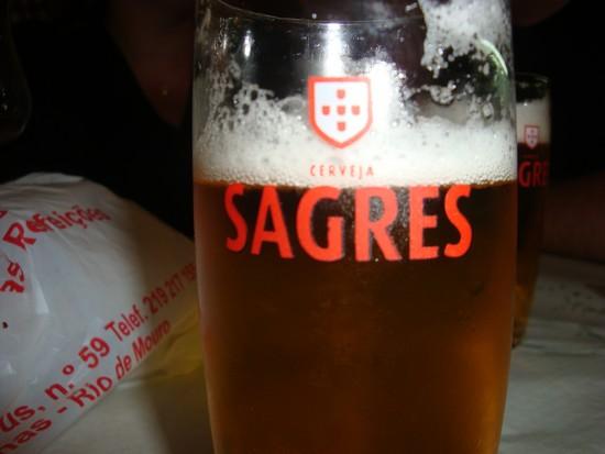 Adoro as cervejas portuguesas