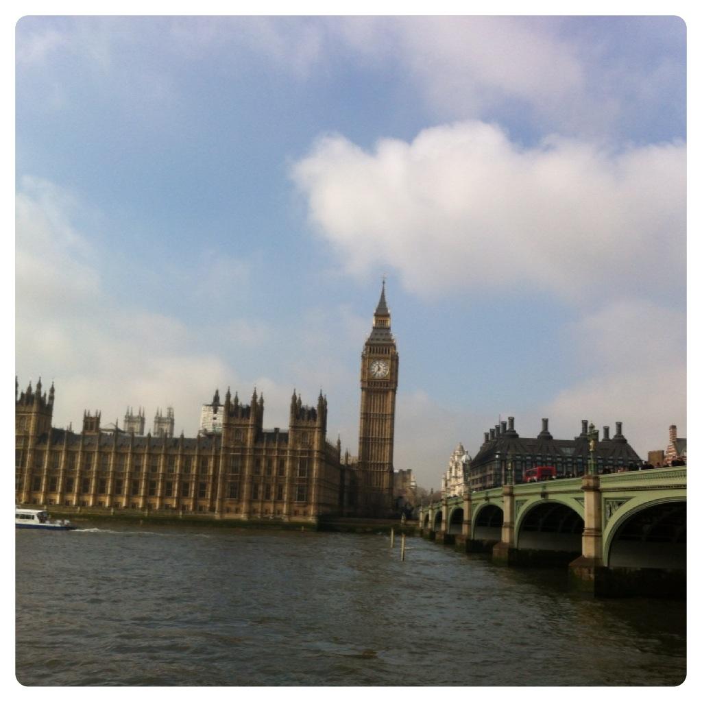 O Parlamento e o Big Ben!