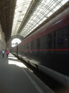 Trem Budapeste Viena