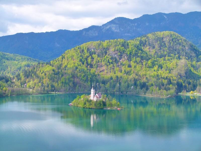 Lago Bled, Eslovênia - Preciso Viajar