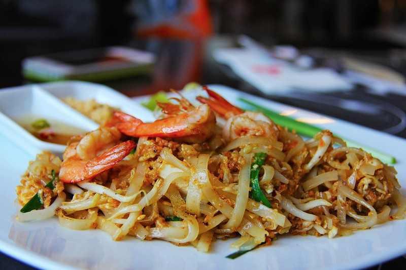 comida de rua tailândia