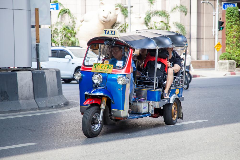 como se locomover em bangkok