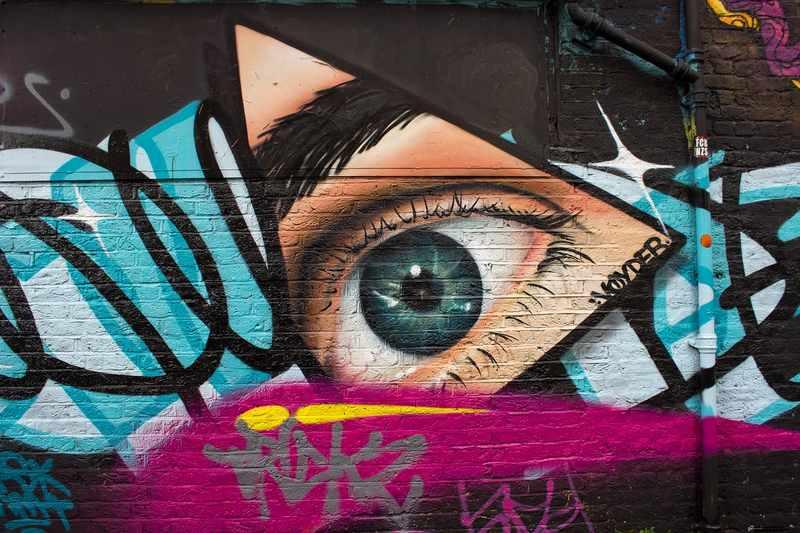 arte de rua leste londres