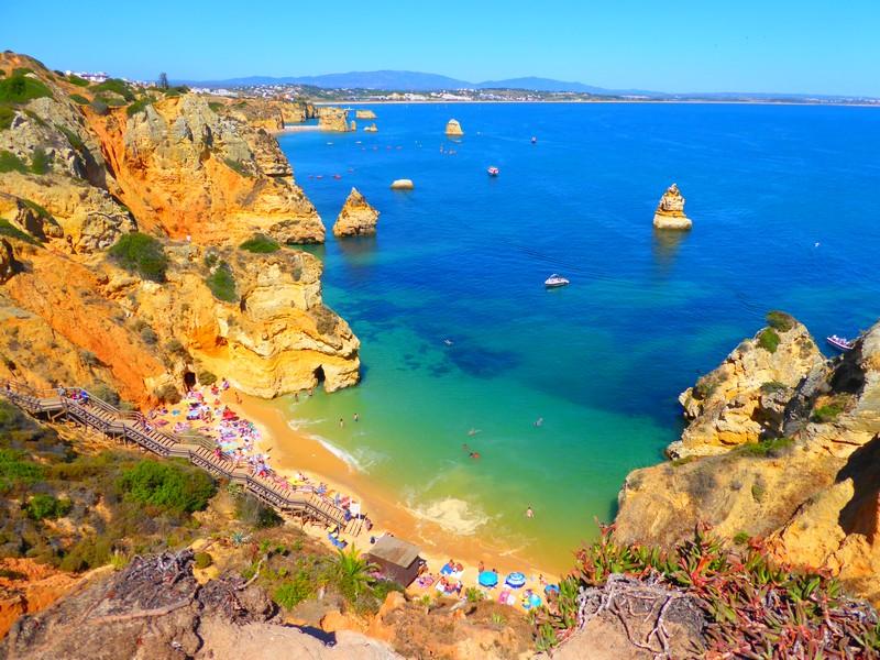 melhor época para viajar para o Algarve