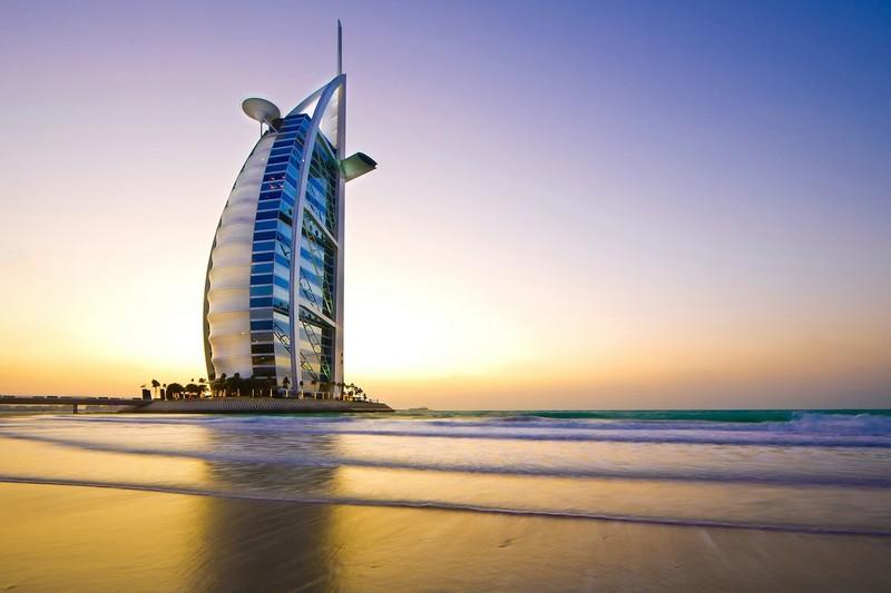 Burj al-arab em Dubai