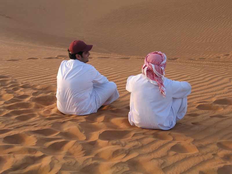 passeio pelo deserto