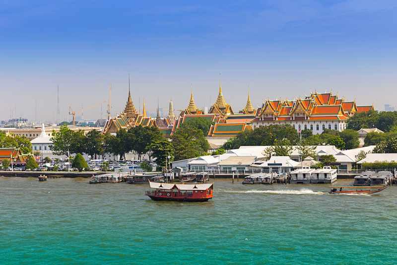 passeio barco Rio Chao Phraya bangkok