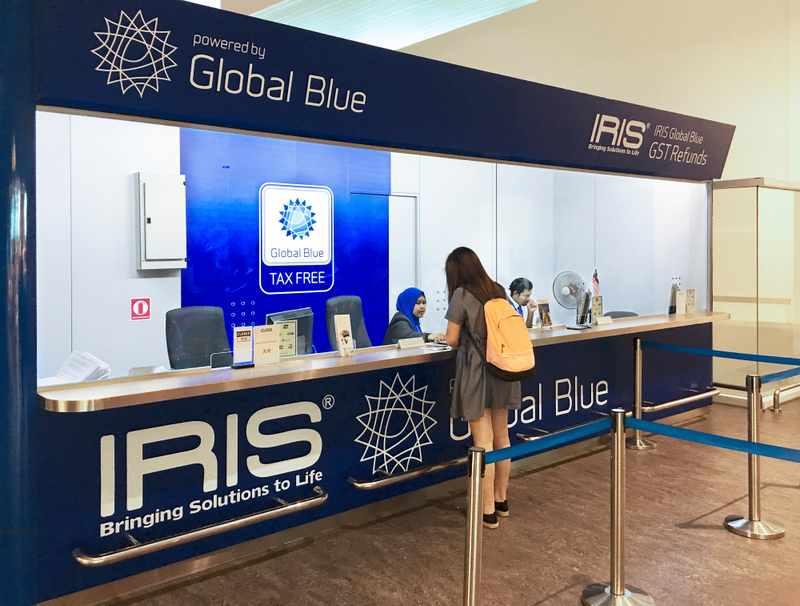 global blue aeroporto