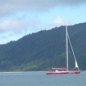 O episódio do veleiro e do snorkeling na Austrália